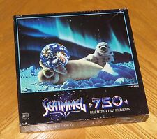 Schim Schimmel Art - The Light of Home - Baby Seals Earth 750 Pc Puzzle - Sealed