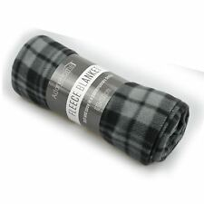 Checkered Fleece Blanket 100%25 Polyester 120x150cm 150x200cm
