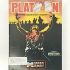 "Platoon Ibm Pc Computer Game 5.25"" 3.5"" Disks Big Box Complete Retro Rare"