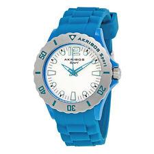 Akribos XXIV Blue Band  Ladies Watch AK536TL