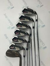 Callaway RAZR X Irons Mens Right Hand 5 - PW + 58 Deg Wedge Uniflex Steel Shaft