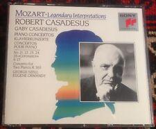 SONY CLASSICAL SM3K 46519 MOZART piano concertos CASADESUS*SZELL*ORMANDY 3CD SET