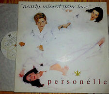 "PERSONELLE NEARLY MISSED YOUR LOVE 12 "" MAXI"