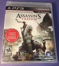 Assassin's Creed III [ First Print W/ Black Label ] (PS3) NEW