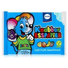Küchle Knabber Esspapier blau Tutti Frutti Geschmack 25g Essoblaten (1er Pack)