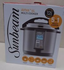 Sunbeam Aviva 6L Electric Pressure Slow & Rice Multi Cooker PE6100
