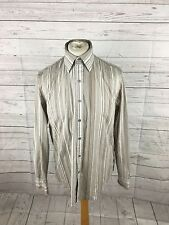 Men's DKNY Shirt - Large - Striped - Great Condition