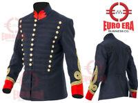 British Empire Hussars Jacket Pelisse Tunic, Steampunk Military Uniforms