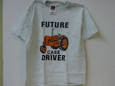 CASE FUTURE DRIVER  KID GREY T SHIRT SIZES AVAILABLE KID  2-4 6-8 10-12