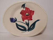 Blue Ridge So Pottery Amelia Pattern 11 1/2 Inch Serving Platter