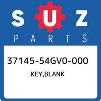 37145-54GV0-000 Suzuki Key,blank 3714554GV0000, New Genuine OEM Part