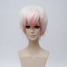 Mystic Messenger Saeran Game Anime Cosplay Costume Wig +Free Wig Cap +Track NO