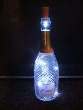 #BOTT-LIT-UP# ROSE WINE BOTTLE LED LAMP/LIGHT (MOOD/PUB/CAMPER VAN/GIFT/COOL)
