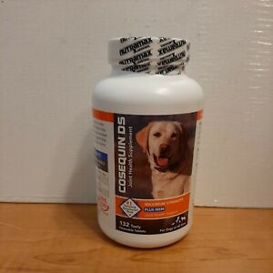 NEW Nutramax Cosequin DS Plus MSM Joint Health for Dogs - 132 Chewable Tablets