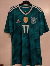 Germany World Cup Away Authentic Jersey with Boateng 17 printing - Size Large