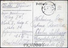 Camp Oflag XA Sandbostel 1940 POW Prisoner of War Kriegsgefangenenpost (K8)