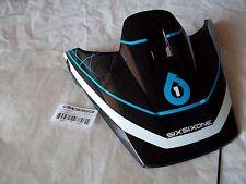 SIXSIXONE FENIX GRID MOTORCYCLE HELMET VISOR BLACK / BLUE