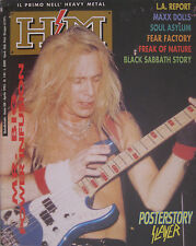 HM 144 1993 Mr Big Fear Slayer Factory Freak Of Nature Soul Asylum Black Sabbath