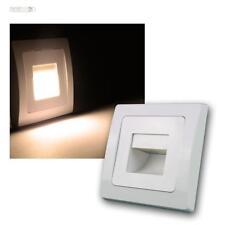 DELPHI luminaires encastrables LED Epi blanc 110LM 80x80mm,