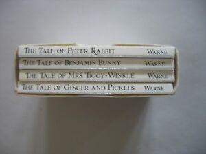 The Original Peter Rabbit Miniature Collection No. I Beatrix Potter 1986 books