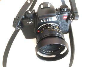 Leica R6 + Summicron 50mm F2