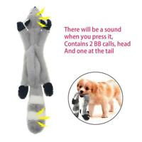 Dog Toys With Squeakers No Stuffing Durable Plush Squeaky Toy Pet Chew Dog H0W4