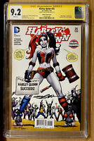 HARLEY QUINN #25 CGC 9.2 SS SIGNED BY NEAL ADAMS VARIANT BIRDS OF PREY (2016) DC