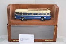 """Norev 1/43 Saviem SC1 Chausson autocar 1960 """"Annonay"""" galerie toit Réf. 521008."""