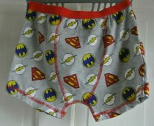 New Justice League Boxers  8-9 years