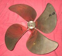 "Mi Wheel DQX 21 x 23 Nibral Inboard Propeller Right Hand 1 3/4"" Bore (72-18)"