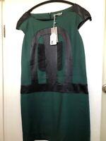 Jasper Garvida London Flapper Green Dress Size 12 New With  tags.