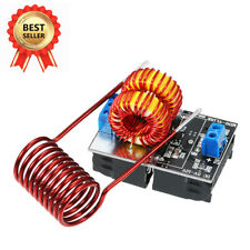 Pro 5V-12V Low Voltage ZVS Induction Heating Power Supply Module +Heater Coil BY