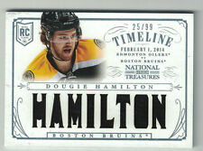 2013-14 Panini National Treasures DOUGIE HAMILTON Patch RT-DH /99 FREE SHIPPING
