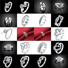 New Fashion Women 925 Silver Jewelry Wedding Engagement Wedding Ring Wholesale