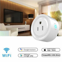 Smart WiFi Plug Outlet Switch work with Echo Alexa Google Home Remote Control