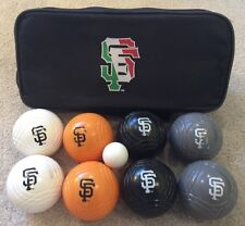 New San Francisco SF Giants Bocce Bochy Ball Set-Italian Heritage Night