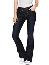 Classic Rise Regular Size Boot Cut Jeans for Women