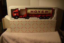 NZG ART NO 317 HOYER MERCEDES TRACTOR UNIT TANKER TRAILER New In HOYER Box 1/43