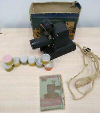 "Vintage set filmoscope ""Tanchik"" + 8 filmstrips. diascope USSR 50s"