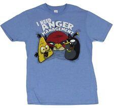 Angry Birds (Hit Mobile App) Mens T-Shirt  - I Need Anger Management Bird Im