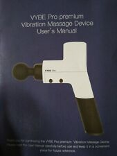 Quiet Professional Percussion Massage Gun - Vybe PRO Premium Handheld Deep