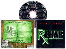 QUIET RIOT - Rehab 2006 (Heavy Metal) CD Original IMPORT U.S.A.