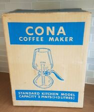 CONA Coffee Maker NEW Vintage Capacity 2 Pints 1.13 Litres No. 337117