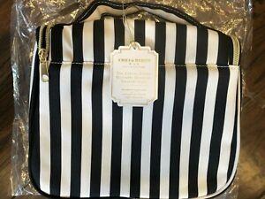 Pottery Barn Teen Emily Meritt Toiletry Case Bag Hanging The Circus Stripe Black