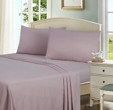 Mainstays Soft Wrinkle Resistant Microfiber Queen Blush Sheet Set