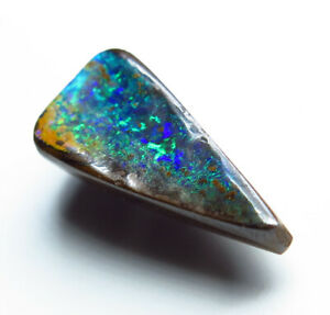 Australian Boulder Opal 2.45ct Queensland Natural Stone