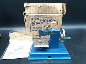 Vintage Kayanee Sew Master Child Sewing Machine toy with Box & Papers
