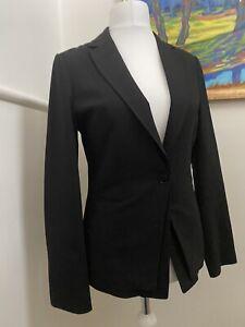 REISS ESSENTIALS OTIS  Black Slim Fit  Blazer 10UK/ 6USA RRP £230 used