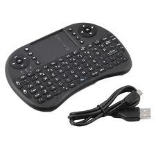 Mini Wireless Keyboard Multi-media Remote Control Touchpad Handheld Keyboard FT1
