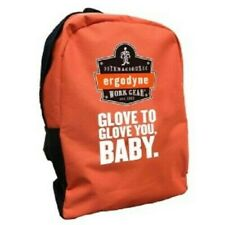 Tenacious Ergodyne Work Gear Orange Backpack Glove to Glove You Baby New